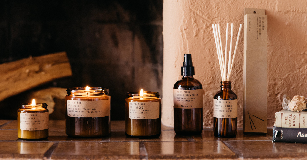 Digital Marketing Agency Grows ecommerce revenue for home fragrance company.