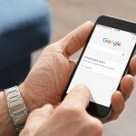Google application on Apple iPhone 6